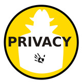 privacy contact poster