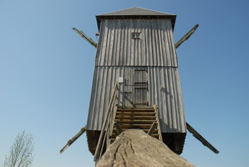 le moulin vu de dos