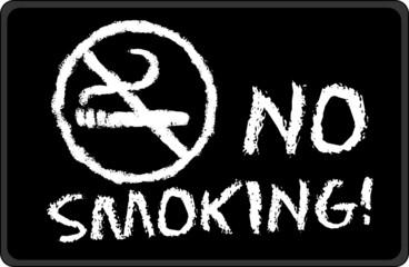 Black - No Smoking