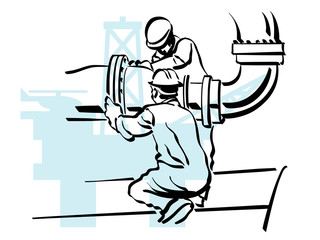 lavoratore petrolifero