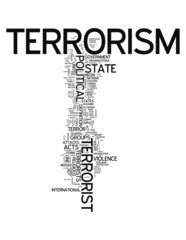 "Word Cloud ""Terrorism"""