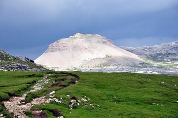 Berg auf dem Mont de Seur