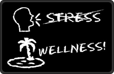 Black - Stress - Wellness