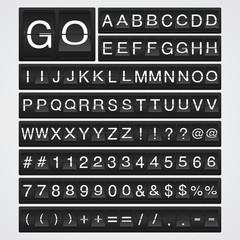 Airport Flip Font