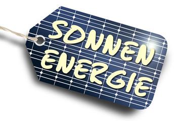Anhänger Sonnenenergie
