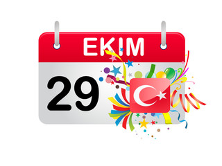 Holiday Calendar Turkey National Republic Day