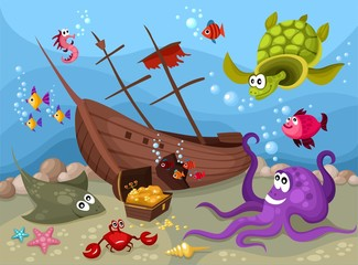 sea life © nem4a