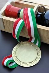 Vino italiano pregiato premiato