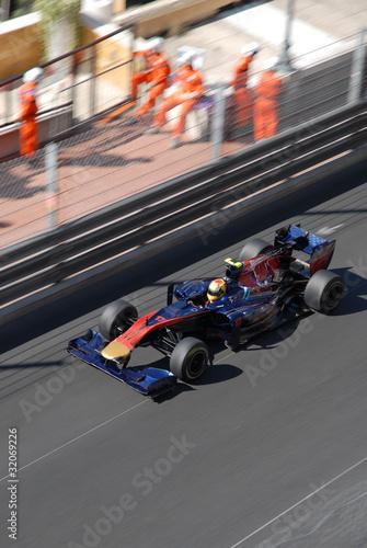 Foto op Plexiglas Motorsport Monoplace en piste