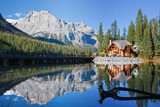 Fototapety Emerald Lake, Alberta, Canadian Rockies