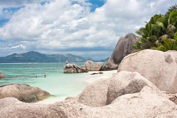 """plage """"Anse Source d'Argent"""", la Digue, Seychelles"""
