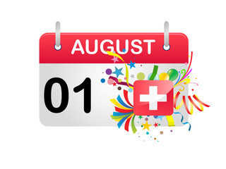 Holiday Calendar Switzerland National Day