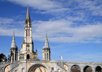 Basilika der Unbefleckten Empfängnis in Lourdes