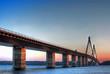 Faroe bridge in Denmark