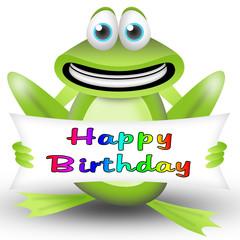frog happy birthday