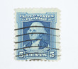 Postage stamp Washington 1932 5 cents