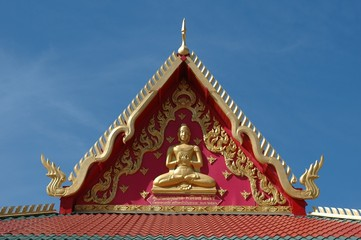 Detail of Buddhist Temple