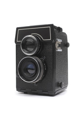 Old fashioned Twin Lens Reflex Camera