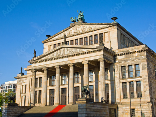 The Konzerthaus at the Gendarmenmarkt