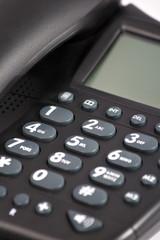 Close up phone key