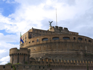 The Castel Sant'Angelo in Rome Italy Europe