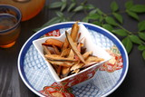 japanese typical grocery,dried bonito flakes poster