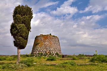 Nuraghe tower sardinia Italy