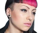 teen girl piercing