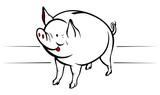 piggy moneybox poster