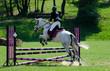 saut à cheval