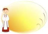 Bambino Prima Comunione Auguri-Boy First Communion Background-2