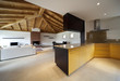 open space, big interior of house