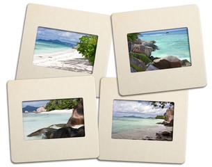 diapositives des Seychelles
