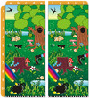 St. Patrick's Day find ten differences visual puzzle