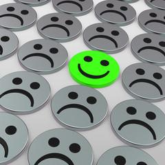 Das glückliche Smiley