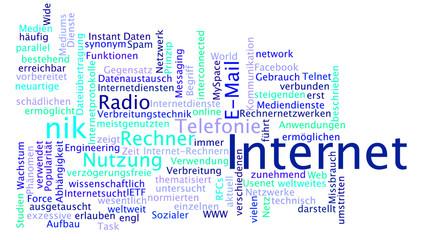 internet (blau)