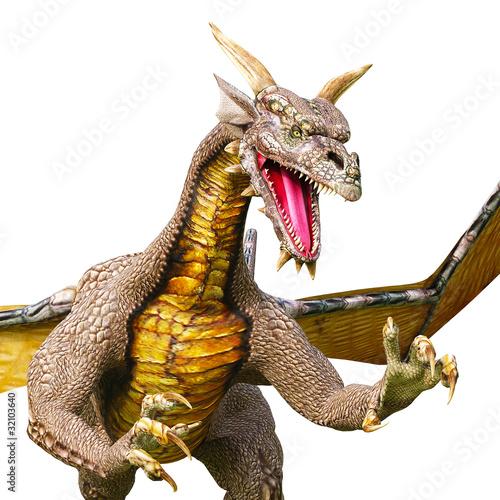 dragon near attack