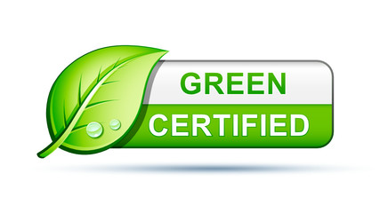 Green certified label