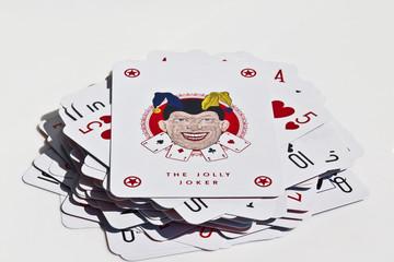 Mazzo di carte con jolly