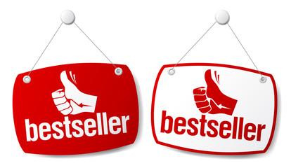 Bestseller signs.