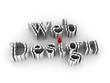Web Design isolated on white background