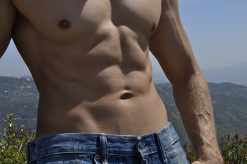 Male abs