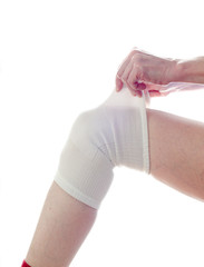 medical bandage, knee support