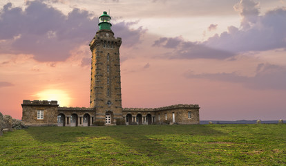 Lighthouse in dusk..