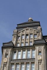 neoklassizistisches Gebäude in Hamburg