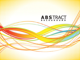 abstract colorful rainbow background