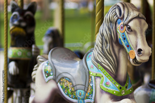 Papiers peints Equitation Merry-Go-Round