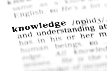 knowledge (the dictionary project)