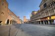 Ferrara cathedral  Square