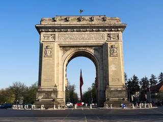 Triumph Arch In Bucharest, Romania